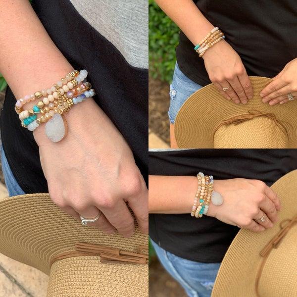 It's a rock bracelet