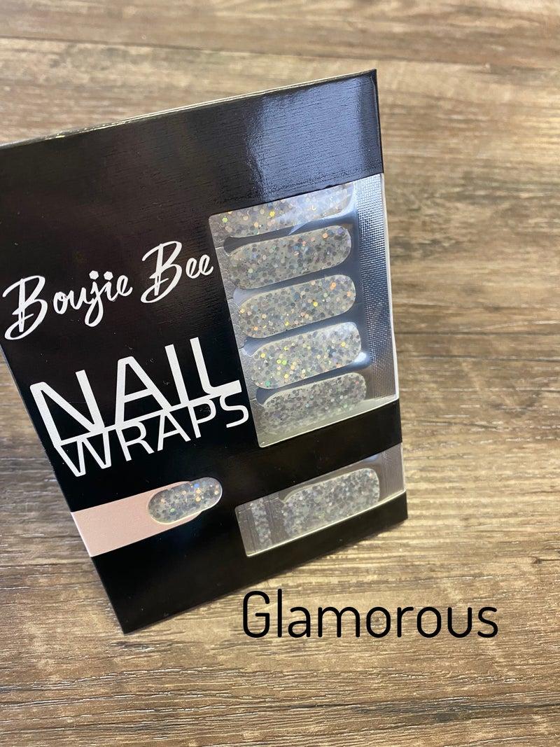 Boujie Bee Nail Wrap