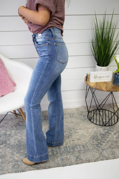 Judy Light Washed Flares