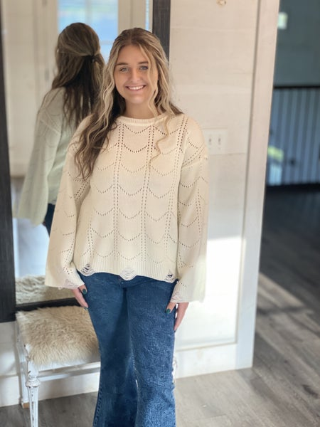 A Scallop Style Top