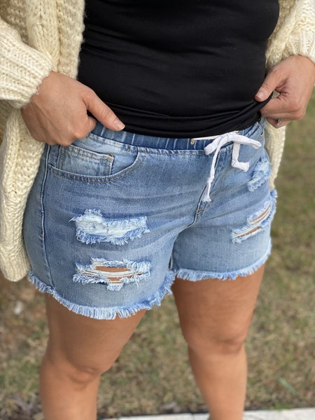 Claire's Distressed Skinny's