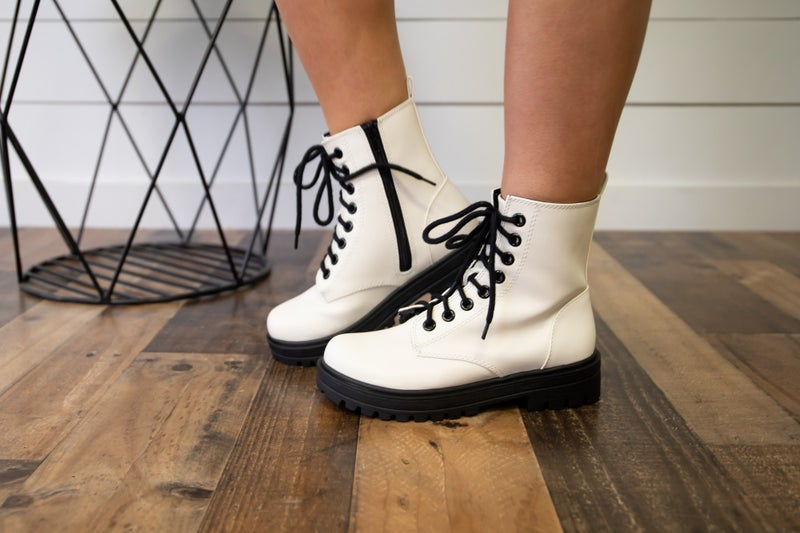 White boots are always best!