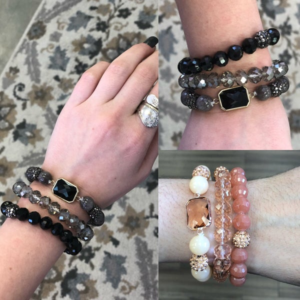 June Bracelet Stacks