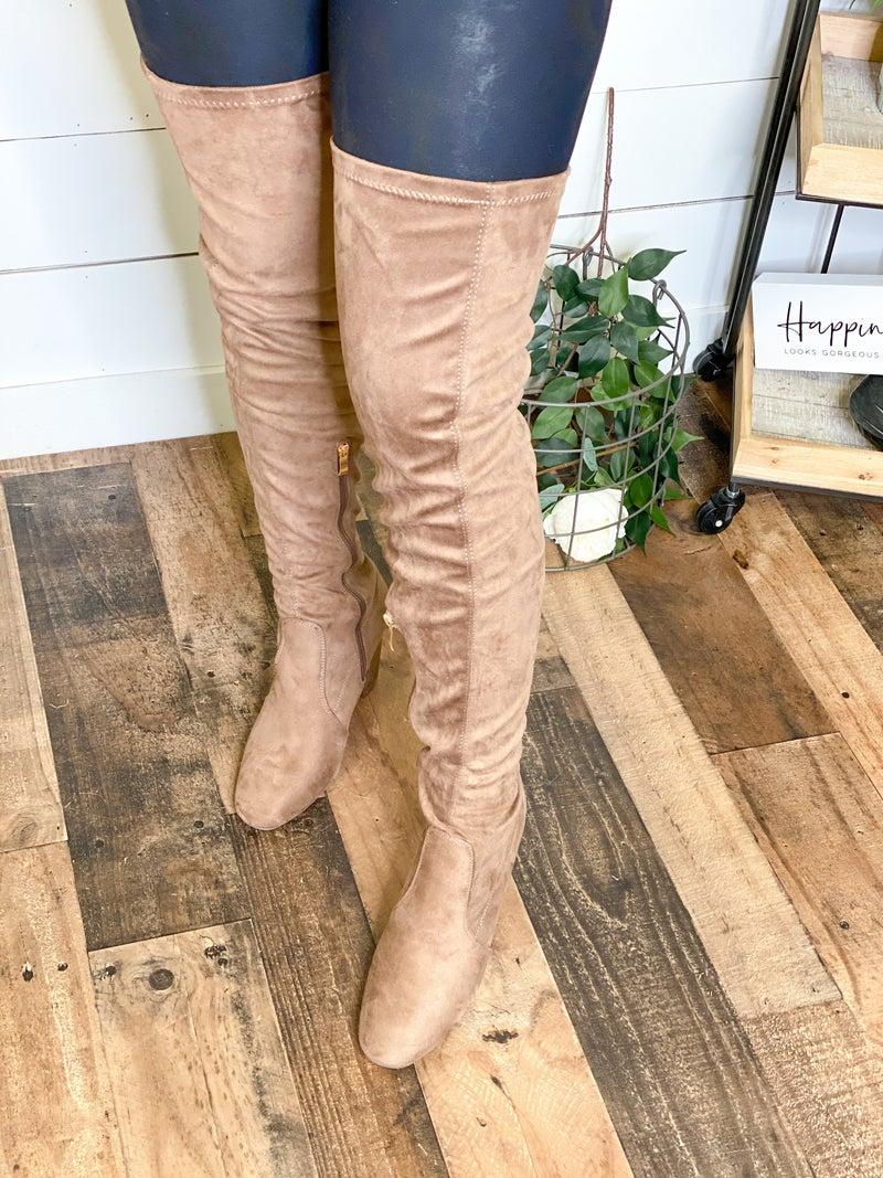 Annie Thigh High Boots