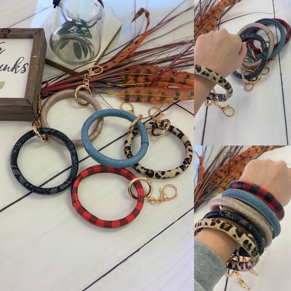 Bangle Bracelet Key Rings *Final Sale*