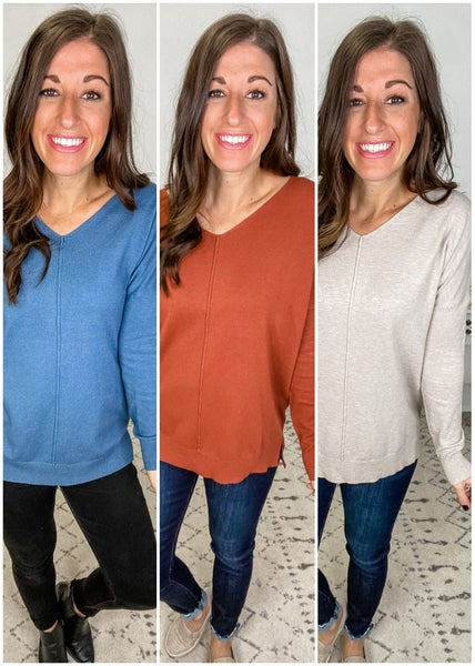 {Simple High Low Tunic} *Final Sale*