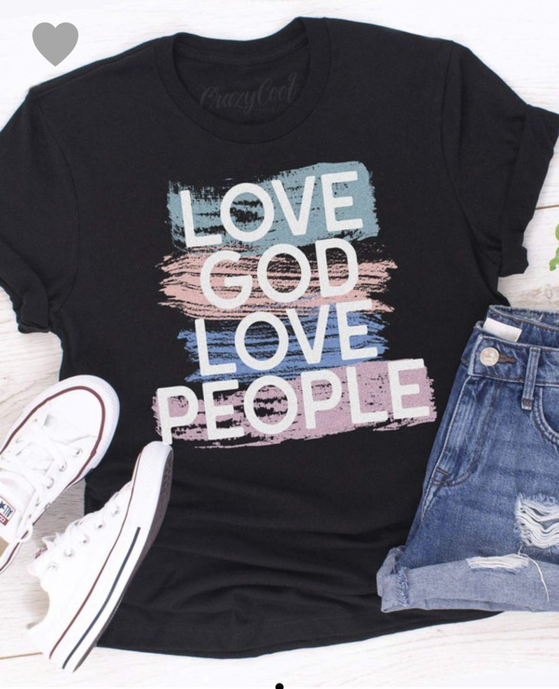 {Love God Love People} *Final Sale*