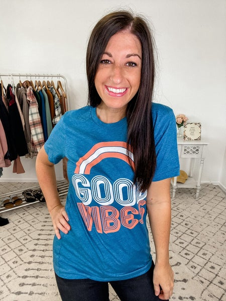 {Good Vibes Graphic} *Final Sale*