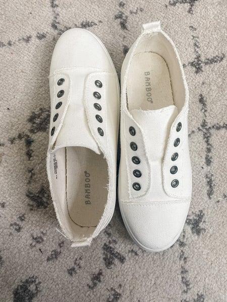 {White Out Sneaker} *Final Sale*