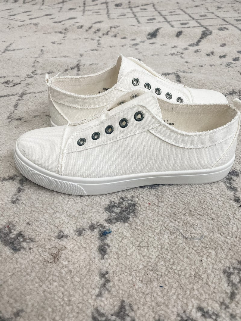 {White Out Sneaker}