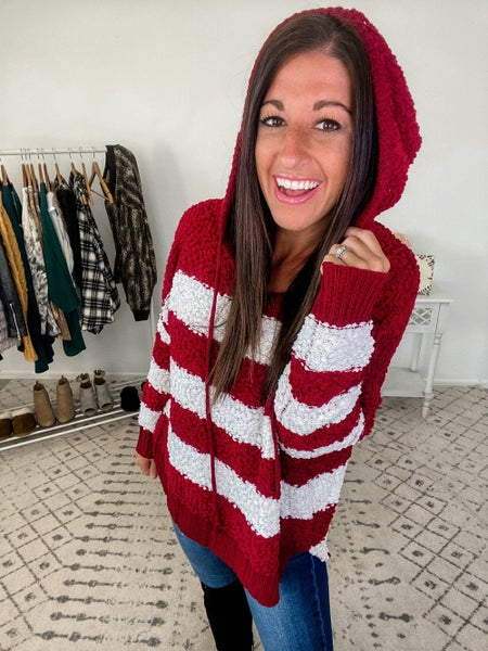 {Popcorn Striped Sweater} *Final Sale*