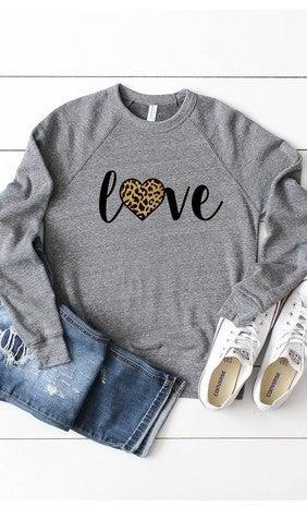 {Leopard Love Sweatshirt}