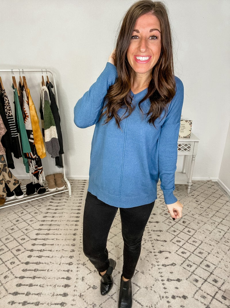 {Simple High Low Tunic}