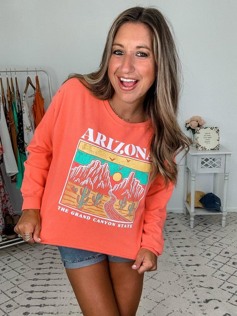{Arizona Cropped Sweater}