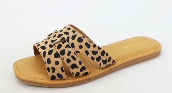 {3 Strap Cheetah Flats} *Final Sale*