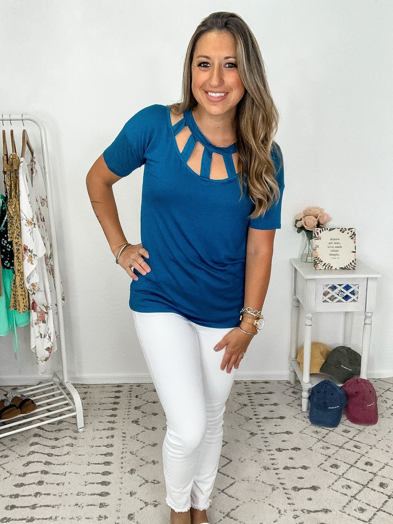{Front Cut Out Top}
