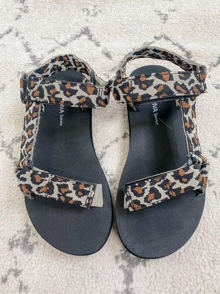 {Leopard Velcro Chacos} *Final Sale*