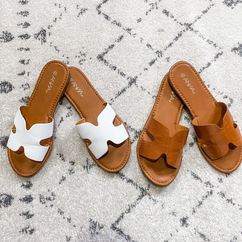{Cut Out Strap Sandals} *Final Sale*