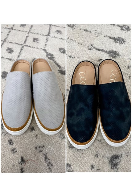 {Backless Slip On Sneakers} *Final Sale*