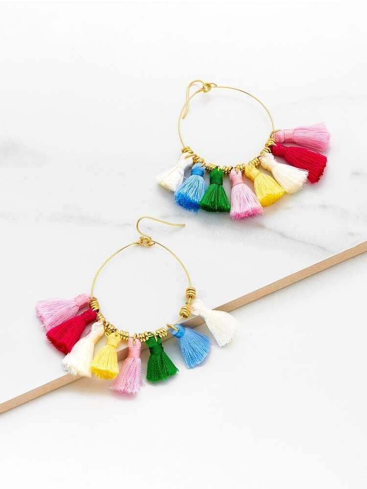 {Rainbow Fringe Fun} *Final Sale*