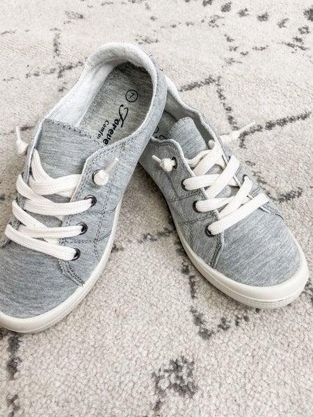 {Grey Slip On Sneaker} *Final Sale*