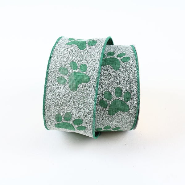 "PUPPY PAWS 2.5"" X 10YD / GREEN"