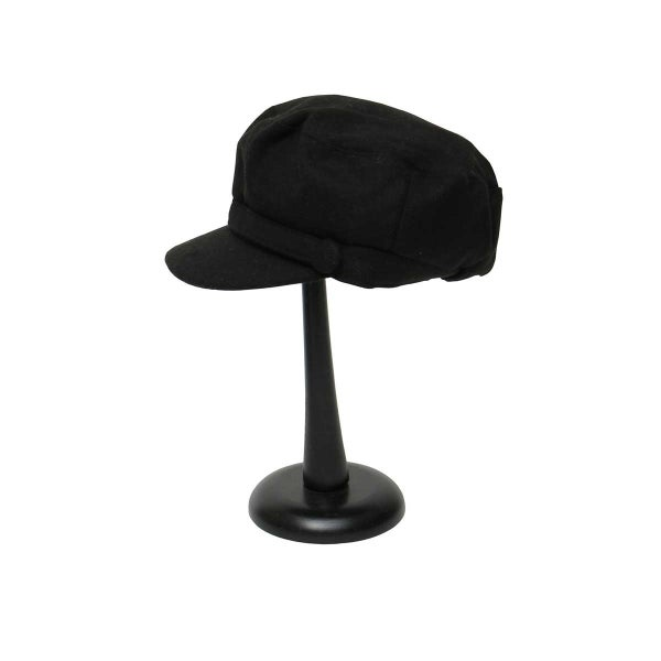 Black Cap with 2 Buttons