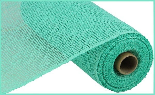 "10""X10yd Poly Burlap Mesh Color: Mint Green"