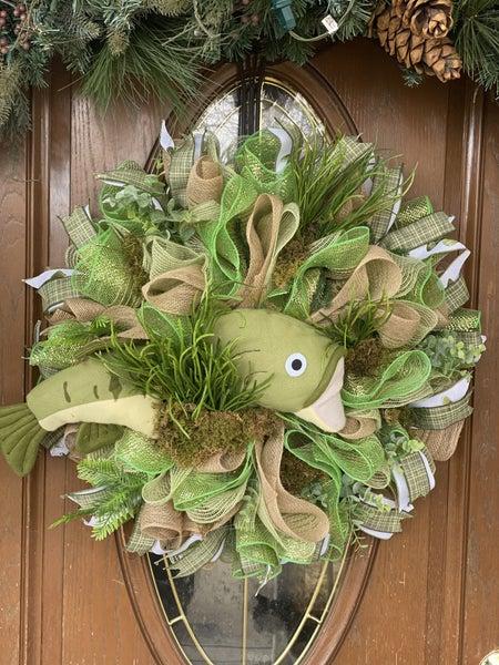 Zack's Fish Wreath
