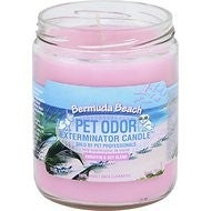 Pet Odor Exterminator Bermuda Beach Deodorizing Candle, 13-oz jar