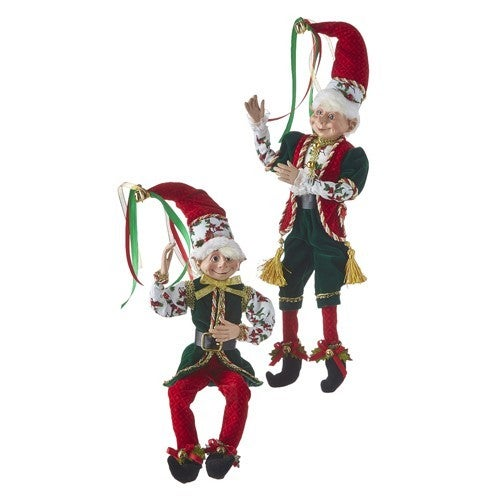"Christmas Eve 16"" POSABLE ELF"