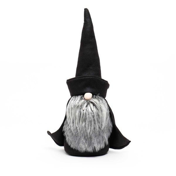 VLAD DRACULA GNOME WITH BLACK HAT AND CAPE LARGE