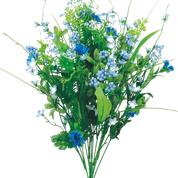 "Berries Filler Bush X 12, H21"" Blue"