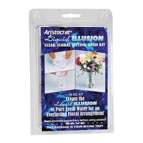 Liquid Illusion - Clear Floral Resin Kit - 16 Oz