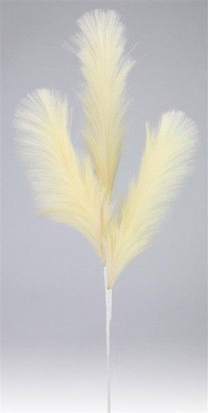 """28""""L Fabric Pampus Grass Spray Beige"""