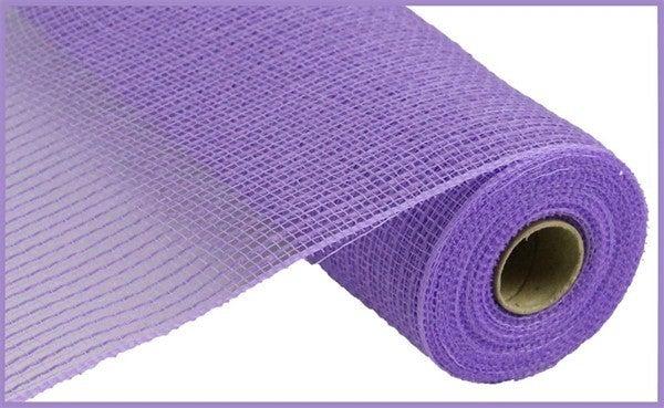 "10.5""X10yd Faux Jute/Pp Stripe Lavender"