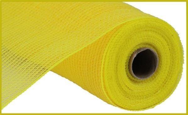"""10.5""""X10yd Faux Jute/Pp Stripe Yellow"""