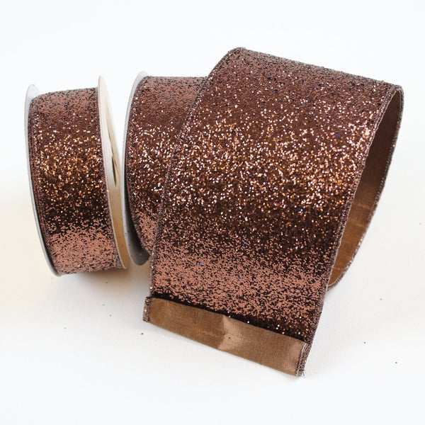 "GLITTER MAGIC - 4"" X 10YD / CHOCOLATE"