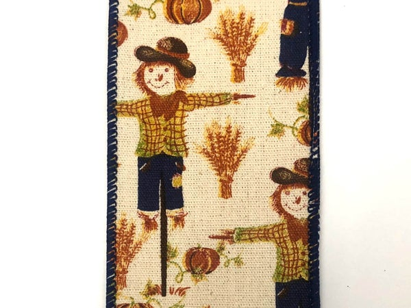"Canvas/Scarecrows 2.5""x10yd"