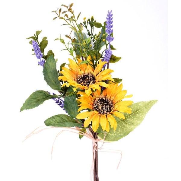 """13"""" Sunflower Foliage Bundle"""