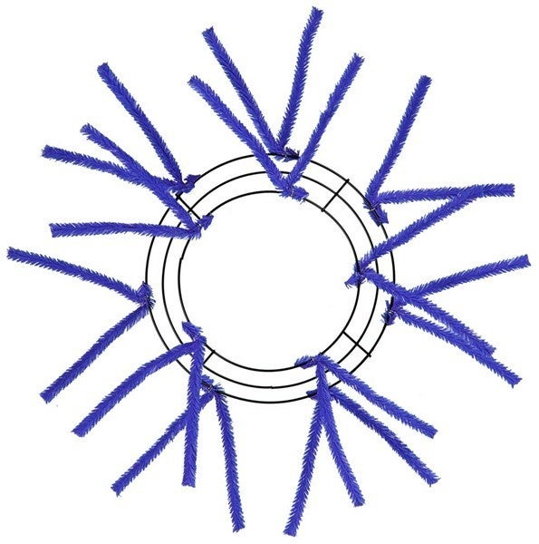 """10""""Wire, 20""""Oad Pencil Work Royal Blue"""