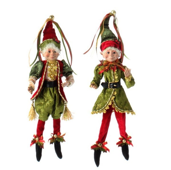 """16"""" Posable Elf Polyester"""