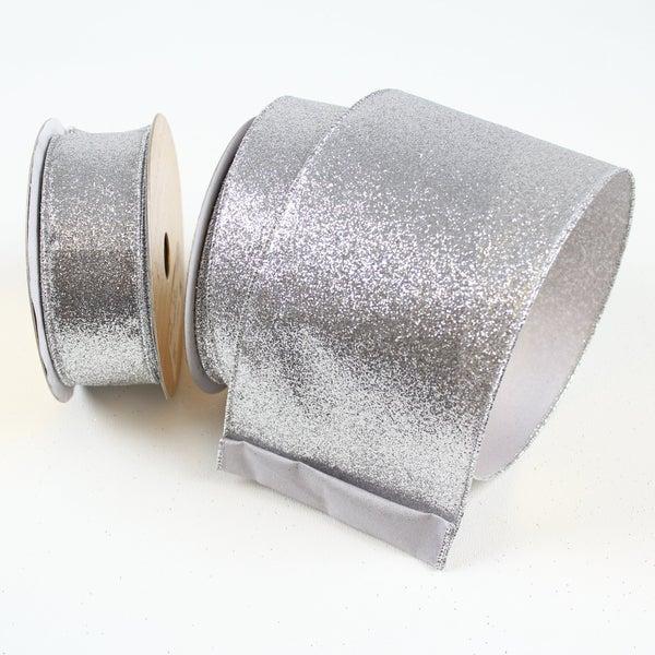 """DIAMOND DUST  1.5""""X10Y / SILVER"""
