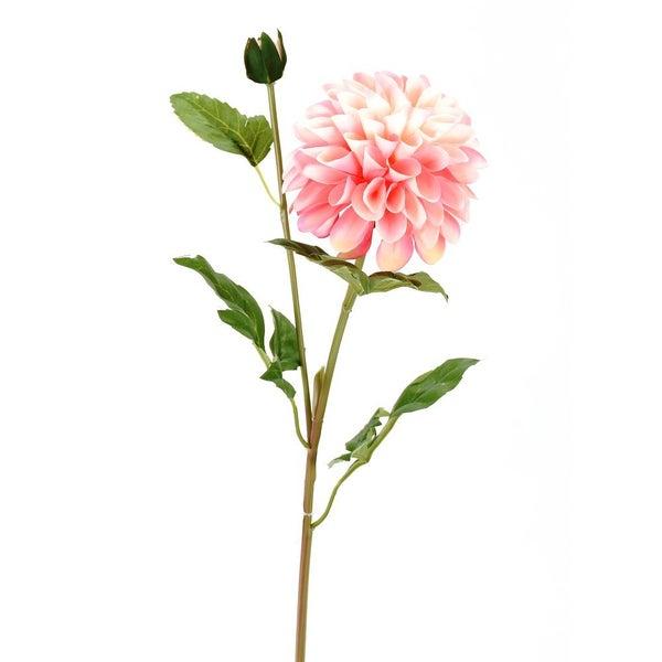 """29"""" DAHLIA W/BUD STEM pink"""
