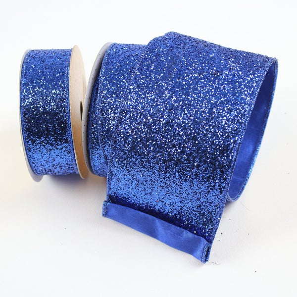 "GLITTER MAGIC - 2.5"" X 10YD / BLUE"