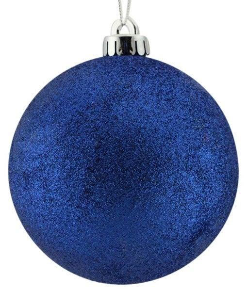 120Mm Glitter Ball Royal Blue