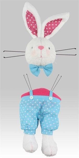 "2 Piece 29""H Boy Bunny Decor Kit"