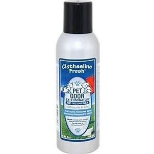 Pet Odor Exterminator Clothes Line Fresh Air Freshener Spray