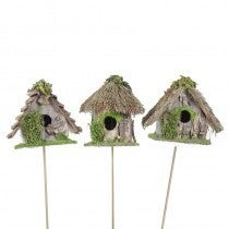 Birdhouse A&Rd-Shape w/Grn Pick