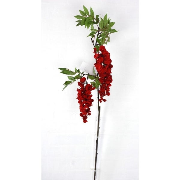 "HNG BLOSSOM BRANCH 36""H Red"